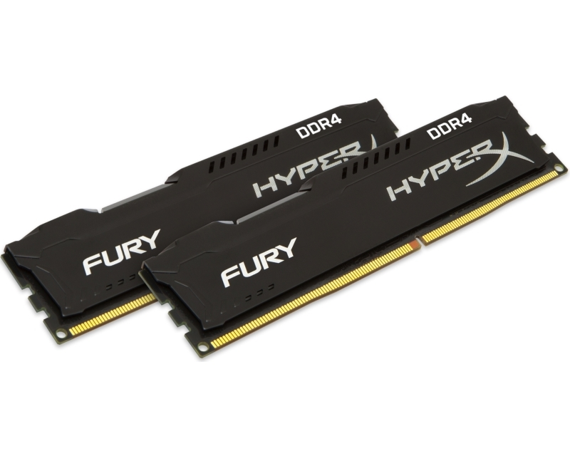 KINGSTON DIMM DDR4 32GB (2x16GB kit) 2400MHz HX424C15FBK2/32 HyperX Fury Black