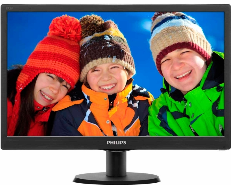 "PHILIPS_ 18.5"" V-line 193V5LSB2/10 LED monitor"