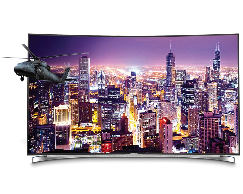 "GRUNDIG 65"" Fine Arts 65 FLX 9690 SP zakrivljeni Smart LED 4K Ultra HD LCD TV"